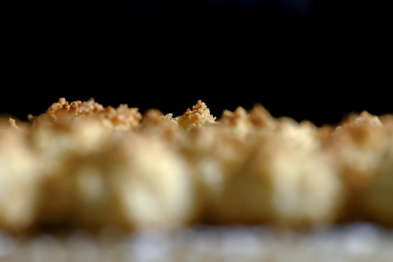Saftige Kokosmakronen fertig gebacken