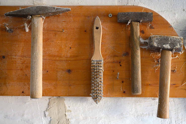 Werkzeuge in der Mühle