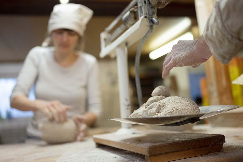Brote wirken in der Backstube