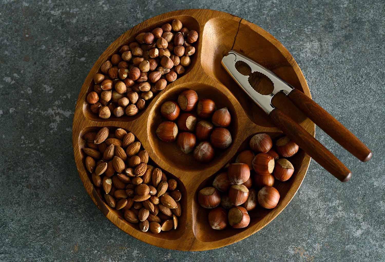 Nüsse für Cantuccini