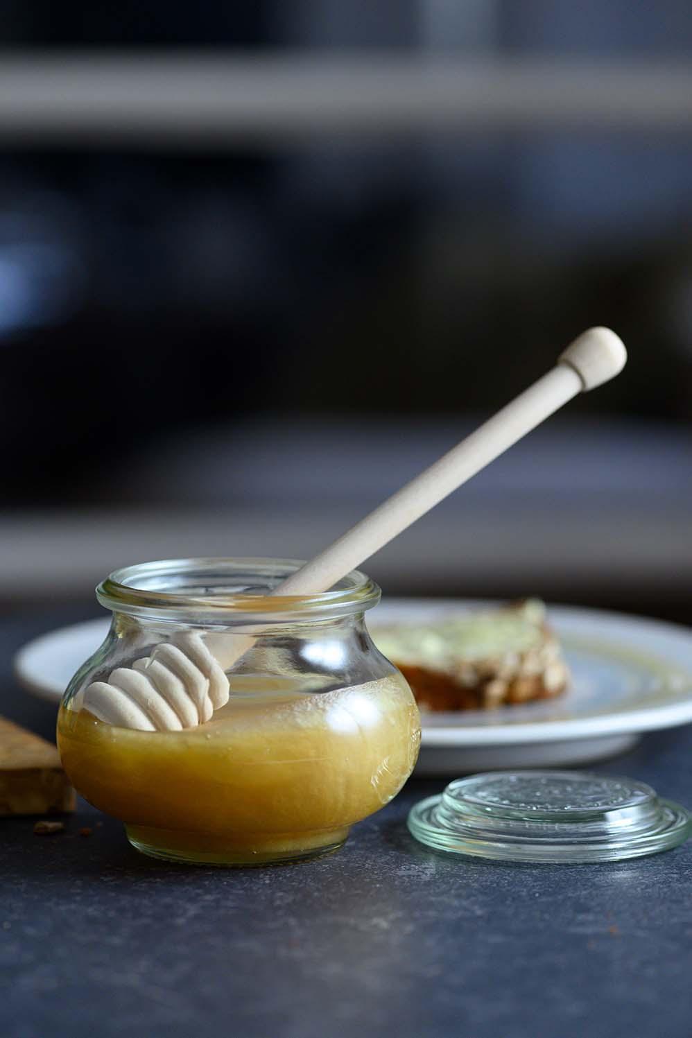 Honig für unser Deinkelvollkornbrot