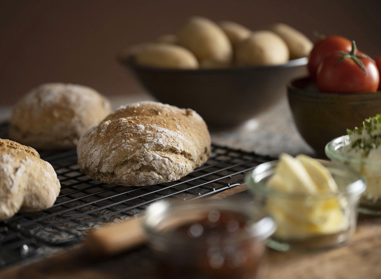Knusprige Kartoffelbrötchen selbst gemacht