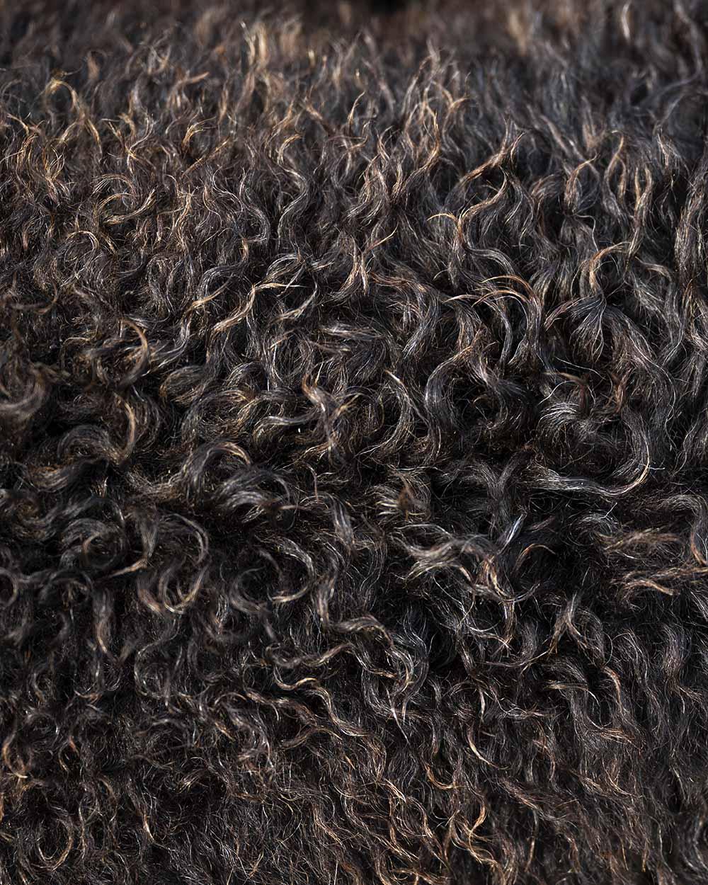 Wolle eines Schafs