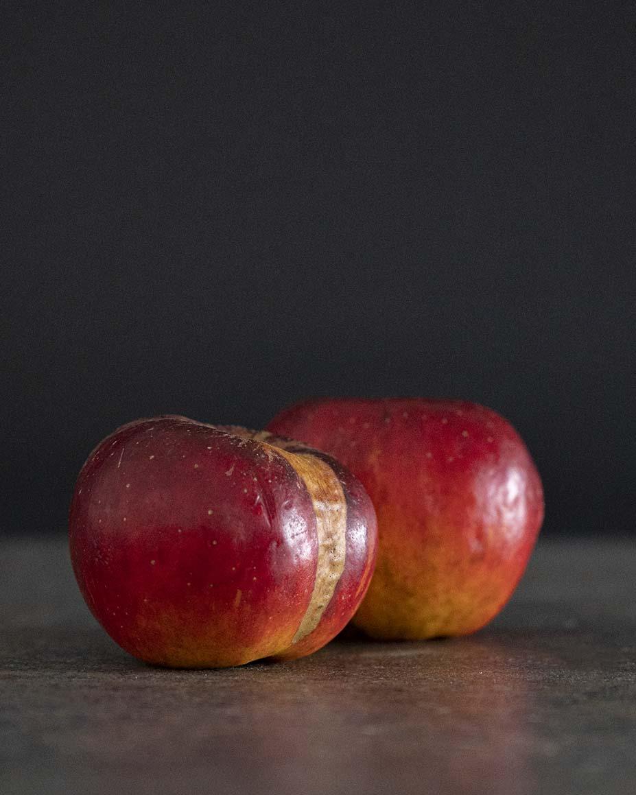 Äpfel für Rote Beete Aufstrich